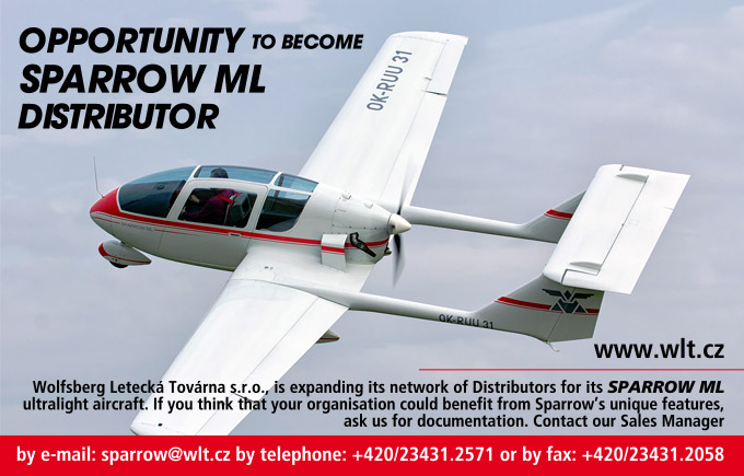 Opportunity to become SPARROW ML distributor